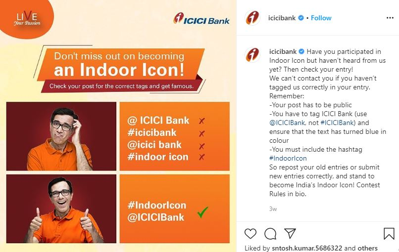ICICI indoor Icon