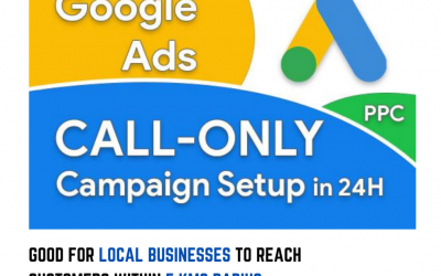 Explore Call Only Ads on Google – A must for a Local Business.
