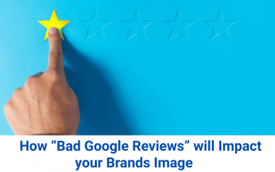 """How """"Bad Google Reviews"""" will Impact your Brands Image"""